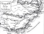 resau Chemins de fer du Sud de la France en 1924
